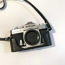 NEAR MINT Vintage Konica Autoreflex T film camera Body
