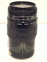 Sigma Auto Focus Zoom AF Multi-Coated 1:3.5~4.5 35mm ~ 135mm Camera Lens