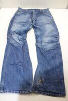 J6427 G-Star Elwood Jeans W34 L34 Blau  Gut