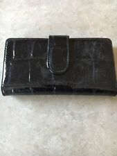 Van Heusen Black Wallet NWT! Retail Value $58