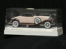 "Solido #4035 1935 ""Duesenberg J Spider"" Soft Top - Creme/Brown- NEW-Mint  OB"