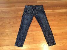 Current Elliot Bandana Print Jeans Skinny Stiletto 28