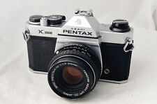 Pentax K1000 film camera, 50mm F1.7 Lens, New Seals, Meter Working, Immaculate