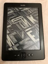 Amazon Kindle (4th Generation) 2GB, Wi-Fi, 6in - Black. Model no D01100