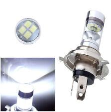 2xH4 Motorcycle 12V 6000K LED Fog Lamp Headlight Front Light Bulb Lamp for Honda