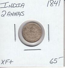 INDIA 2 ANNAS 1841 - XF+