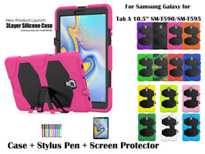 Heavy Duty Shock Proof Survivor Case for Samsung Galaxy Tab A  10.5 T590/T595
