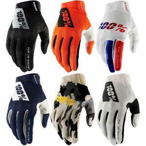 100% Ridefit Gloves SP21 MTB Mountain Bike Full Finger Protection Trail Enduro
