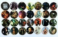 90's 10x Star Wars Pog Tazo Original Walkers bundle - 1996 Vintage Retro Gaming