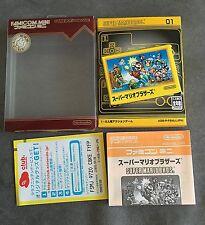 SUPER MARIO BROS BROTHERS - FAMICOM MINI NINTENDO GAME BOY ADVANCE IMPORT JAPAN