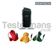 Kewtech Electricians Earth Spike and Leads Test Kit  - ACCESKIT
