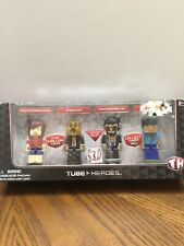 Tube Heros Deluxe Gaming Pack 10065 4 Action Figures NEW in Box Age 8+