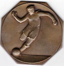 Médaille Art Déco,FOOTBALL par FRAISSE-DEMEY