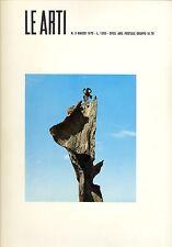 LE ARTI. Direttore Garibaldo Marussi - Marzo 1970