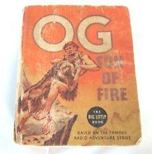 Vintage 1936 OG SON OF FIRE of OTR Big Little Book, Irving Crump