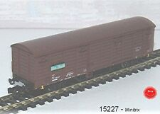 15227   Minitrix -  Ged. Güterwagen 2-achsig, Bauart Gbs 258, braun ´On Rail