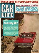CAR LIFE 1963 NOV - NEW CARS,NEW CARS, BREEDLOVE, FORD ALLEGRO