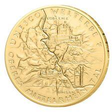 Deutschland Gold 1/2 oz 100 Euro Oberes Mittelrheintal Jahrgang 2015 Goldmünze
