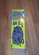 Michael Rosen's Big Book of Bad Things,Michael Rosen- 9780141352824