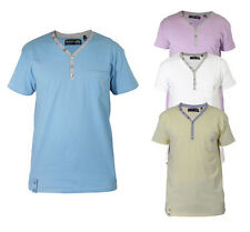Mens Daniel Christian Designer T-Shirts Cotton Tees Casual Tops S - XXL