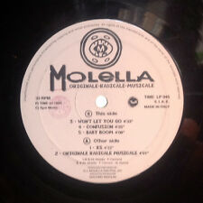DISCO 33 GIRI - MOLELLA originale - radicale - musicale A/B
