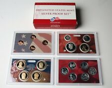2009 S US SILVER PROOF SETS in orginal boxes w/COA