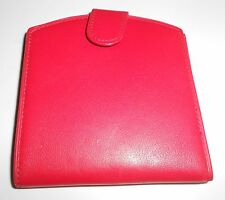 Betty Hemmings Bill Fold & Coin Clutch Red Leather Wallet