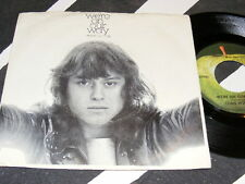 APPLE Records 1972 Original CHRIS HODGE We're On Our Way 45 with Picture Sleeve