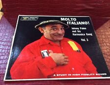 "Johnny Puleo and His Hamonica Gang Vol. 3 ""Molto Italiano!"" LP"