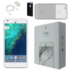 GOOGLE PIXEL 128GB SILVER FACTORY UNLOCKED TECH BUNDLES - LIMITED TIME ONLY!!!!!