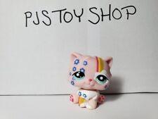 Littlest Pet Shop Lps rainbow persian cat #1436 postcard Authentic w/ Free Gift