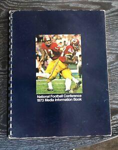1973 NFC Media Information Book