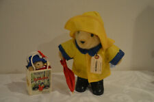 "Vintage Paddington Bear Plush 1976 11"" Doll Stuffed Toy Eden"