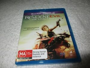 Blu-ray Movie Resident Evil The Final Chapter D174