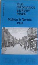 Old Ordnance Survey Detailed Maps Malton & Norton Yorkshire 1926 Sheet 124.06