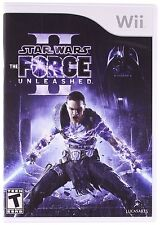 Star Wars: The Force Unleashed 2 II [Nintendo Wii, Lightsaber Force Action] NEW