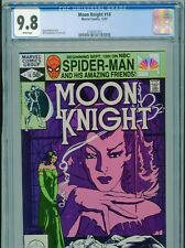 1981 MARVEL MOON KNIGHT #14 1ST APP STAINED GLASS SCARLET CGC 9.8 WHITE