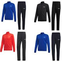 Adidas Mens Tracksuit Bottoms Top Basics Full Zip Jacket Tracksuits Set Pant