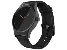 Smartwatch - Alcatel TCL Movetime, 1.3 pulgadas, AMOLED, Pulsómetro, Cuero, Negr