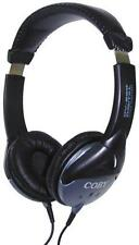 Coby CV200 Stereo Headphones 40mm Drivers 3.5mm plug. 6.35mm adaptor 32Ω 2M cord