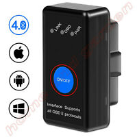 ELM 327 Bluetooth 4.0 OBD2 Car Diagnostic Scanner OBD for IOS and android