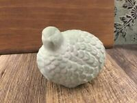 Partridge Quail Hen Figurine Farmhouse French Country Apothecary Color Sealed