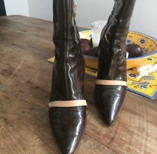 Vintage Louis Vuitton Patent Leather Boot