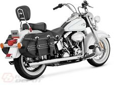 Vance & Hines Exhaust Chrome True Duals Harley Softail 12-14 Softail 16893