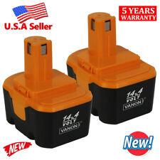 2 X 3.0Ah Battery For Ryobi 1314702 130224010 14.4 Volt CTH1442K2 HP1441 1400655