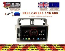 "10.2"" RADIO GPS NAVI BT ANDROID 10.0 DAB+ CARPLAY TOYOTA PRADO 150 2014+ DKS9121"