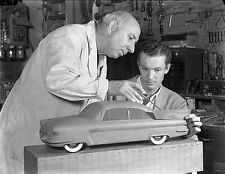 1952 Joseph Thompson  Concept car clay modeler instructor  8 x 10 Photograph