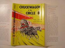 Chuckwagon of the Circle B, Vera Fidler, Doug Stephens, Dust Jacket Only