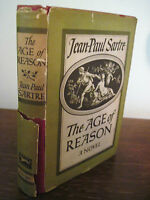 1st Edition The Age of Reason Jean Paul Sartre Classic 2nd Printing Philosophy