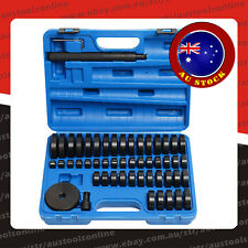 52pcs Bearing Press Tool Bushing Sealing Ring Mounting Disc Pad Set 18mm-74mm